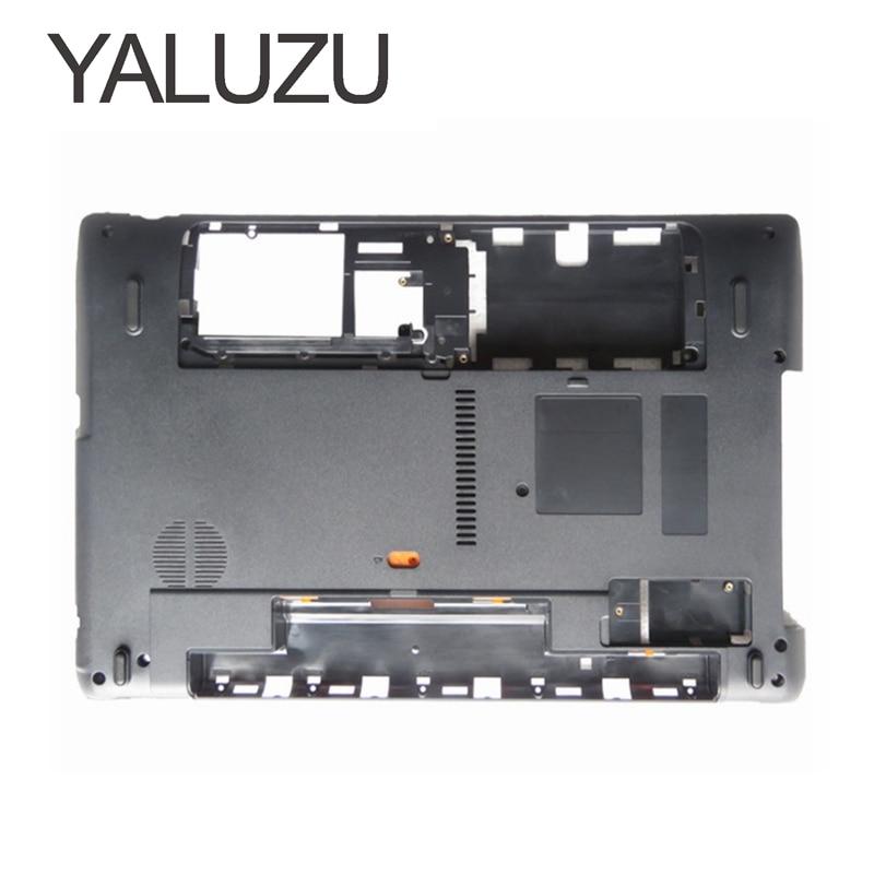 YALUZU New For Acer Aspire 5750 5750g 5750z Bottom Base Cover Case AP0HI000400 Lower Case 5750 5750g 5750z 5750ZG 5750S Replace