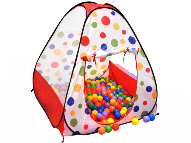 Top Kids Ball Pit in House Pop Up Play Tent Cubby House - Children Outdoor Play  sc 1 st  AliExpress.com : ball pit tent - memphite.com