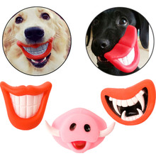 Dog Toys For Small Large Dogs Cats Pet Squeak Toys Creative Vinyl Glue Nuk Puppy Chew Toys Dog Supplies Wholesale #F#40DC13(China)