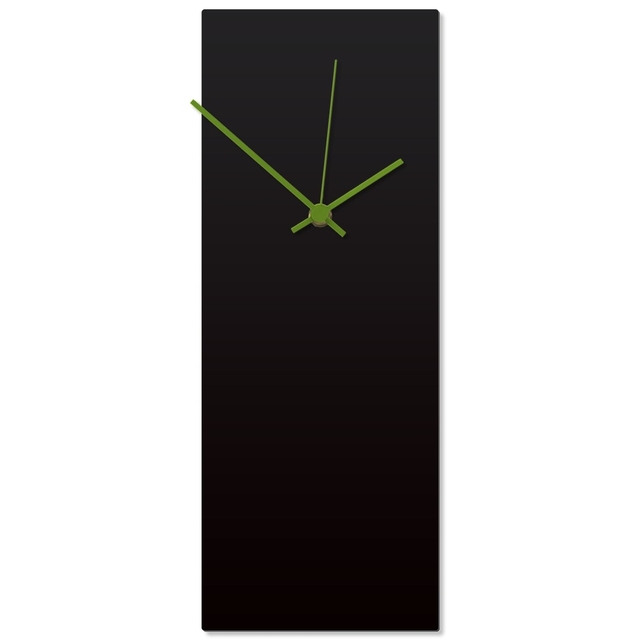 Blackout Green Clock
