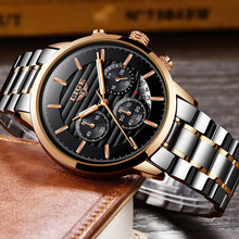 2019 LIGE Top Luxury Brand Mens Watches Chronograph Men Sport Watches Waterproof Full Steel Men Quartz Watch Relogio Masculino цена и фото