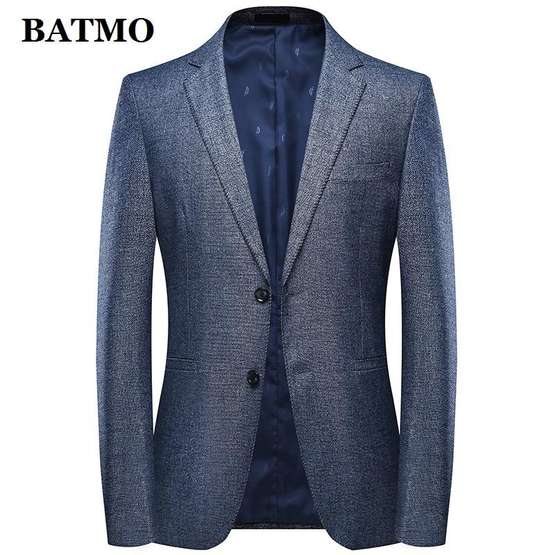 Batmo 2019 New Arrival Summer High Quality Smart Casual Suits Men,men's Casual Blazers,men's Jackets Plus-size M-4XL 9809