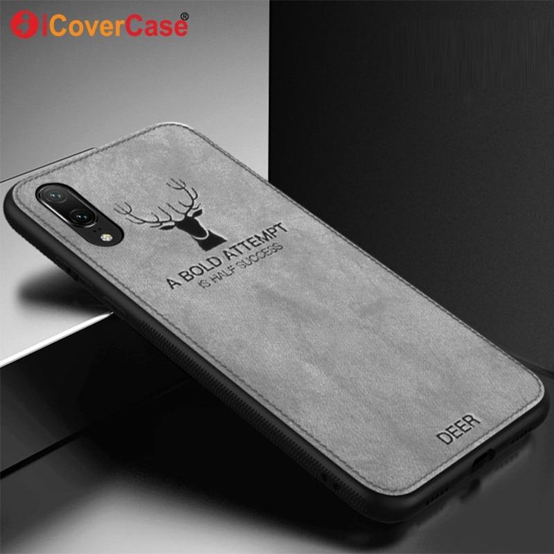 0b882eb05d0f Huawei Nova 3 Case Cover Nova 3E Back Cover Nova 2S Silicone Fabric  Christmas Deer Case Coque Huawei Nova 3I Phone Accessory