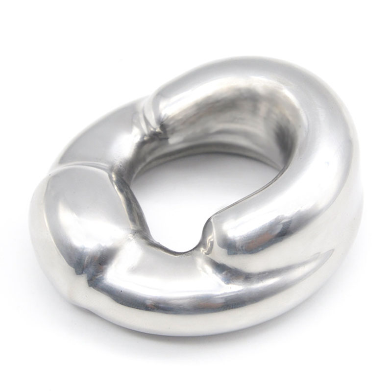 Metal stainless steel heavy pendant cock ring penis weights sex toys for men scrotum bondage ball stretcher penis ring cockring male penis scrotum bondage cock rings stainless steel ball stretcher testicles ring ballstrecher metal cockring sex toys for men