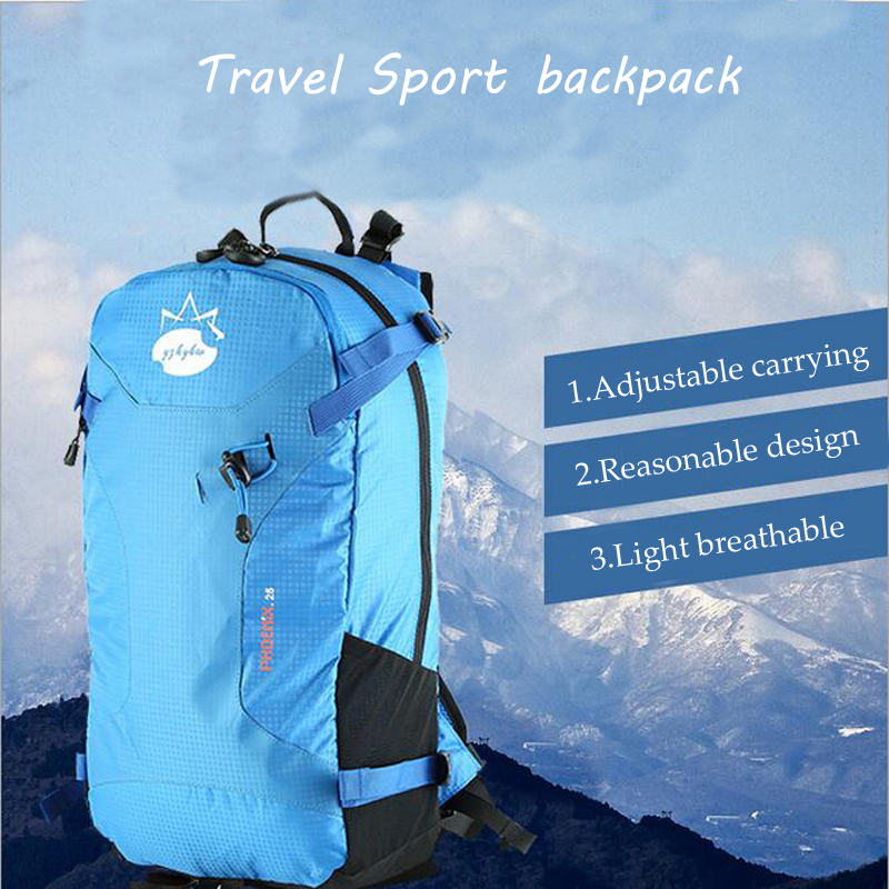 Travel Sports Backpack Climbing Bags 25L Mountaineering Bag Ladies Waterproof Couple Outdoor Travel Men and Women Shoulder Bag outdoor mountaineering bags cycling backpack shoulder bag men and women student trekking travel bag camping equipment 40l