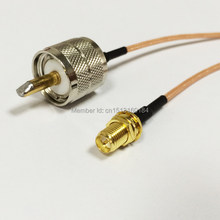 Câble de Connexion Modem Jack femelle RP-SMA vers prise mâle UHF RG316, adaptateur RF Pigtail 15CM 6 pouces
