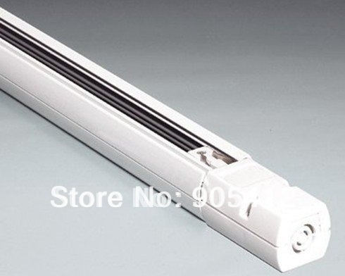 Used Track Lighting With Spot Lighting Slide Rail Four Line Track Wire Surface Mounted Used For Architecture Light Two