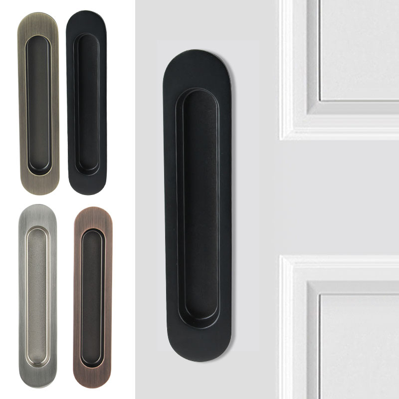 High Quality Exterior Doors Jefferson Door: High Quality 2Pairs Recessed Sliding Door Handles