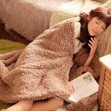 Thicken Fleece Blanket To on For The Sofa/Bed A MicroFiber Plush Bedspread Mantas E Cobertor De Casal Winter Warm