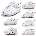 2017 Горячей продажи Пу кожаные детские кроссовки Мода дизайн детские спортивная обувь новорожденных детская обувь Многие типы для выбирают