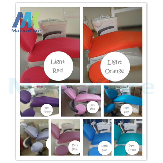 Dental unit covers Dental chair seat cover chair cover protective case dental chair piece set seat protector