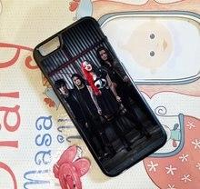 Новый день года Группа Мода сотовый телефон чехол для iPhone 4 4S 5 5S 5C SE 6 Plus 6S плюс 7 7 Plus # AC261