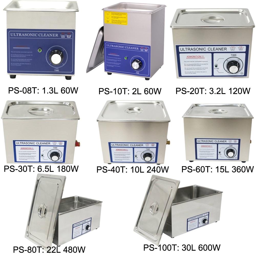 1 3L 2 0L 3 2L 6 5L 10L 15L 22L 30L Ultrasonic cleaner timer 40KHz