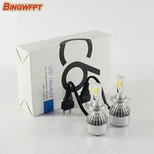 2pcs/pair LED Car headlight 36w 7600LM COB H8 H9 H11 led headlights