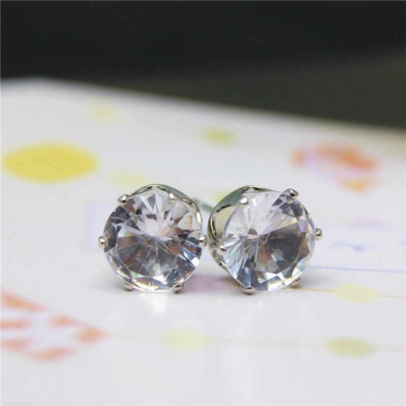 14 farben Mode Schmuck Luxus Österreichischen Kristall Für Frauen Heißer Verkauf Silber Farbe Ohr Schmuck Besten Freunde Geschenk freies verschiffen