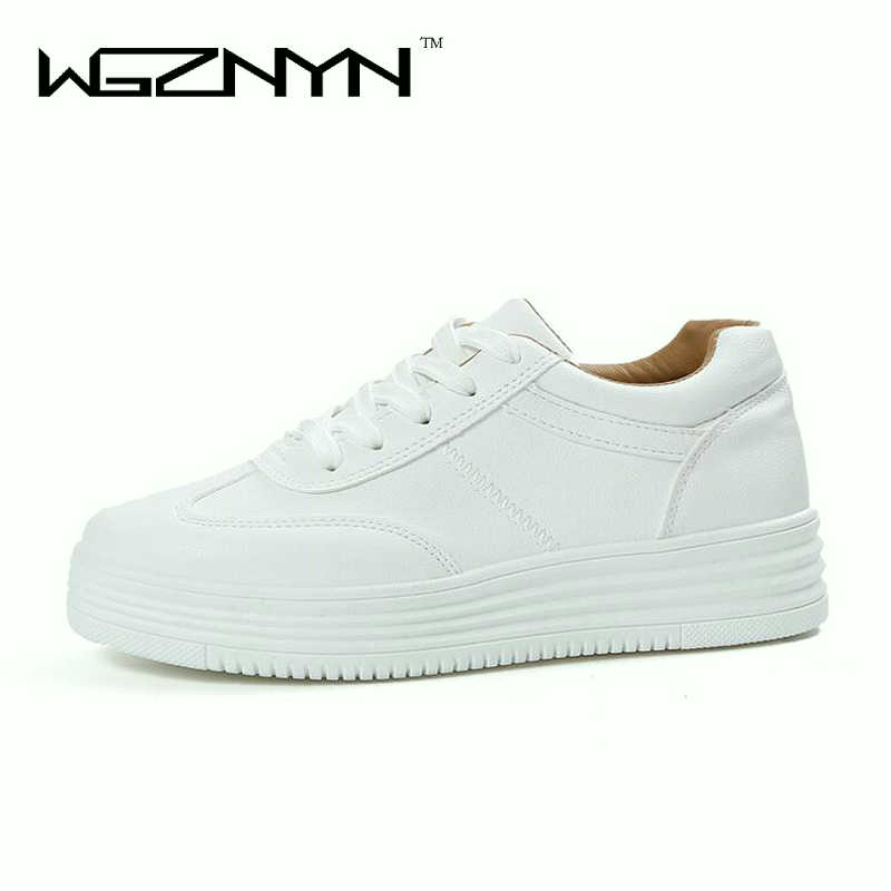 Designer spring Summer Sneakers Women Causal Shoes White Basket Femme Women Flats Platform Creepers Zapatillas Deportivas Mujer