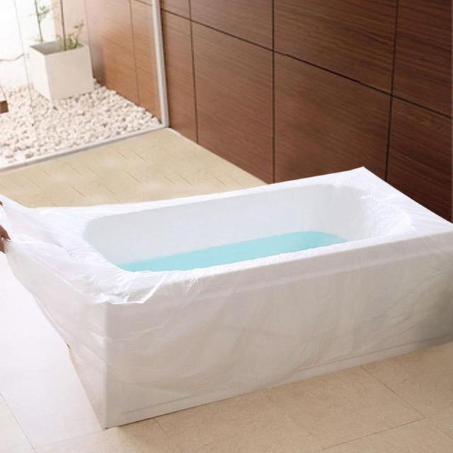 New Health Disposable Film Bathtub Bag for Household and Hotel Bath ...