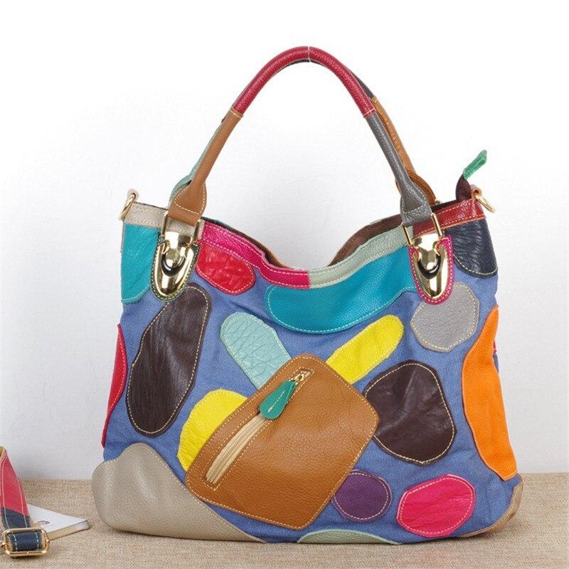 Caerlif EU Styles soft Bag Vintage Fashion Bags Women s Cowhide Genuine Leather Handbag Fashion Brand