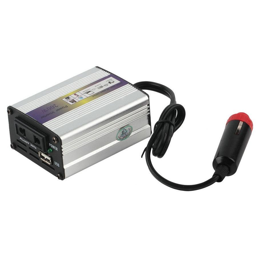 цена на Portable Car Charger 200W WATT DC 24V to AC 220V 50 Hz Car Power Inverter Converter Transformer Power Supply hot selling