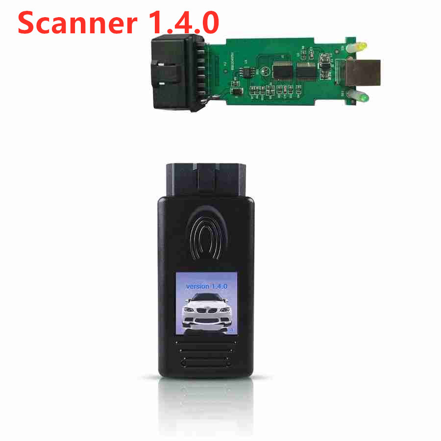 Free Shipping 1.4.0 OBD FOR BMW Scanner 1.4.0 Version OBD2 Code Reader 1.4 OBD Car Diagnsotic Unlock  Tool