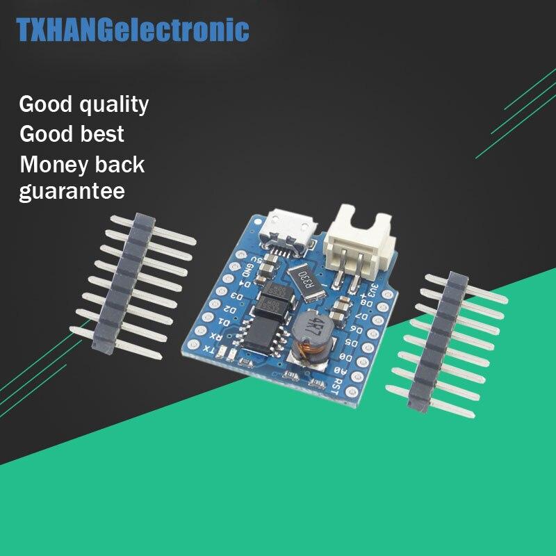 10pcs <font><b>Battery</b></font> <font><b>Shield</b></font> For WeMos D1 mini single lithium <font><b>battery</b></font> Charging &#038; Boost Micro USB Interface For wemos d1 mini