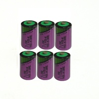 Original New 6PCS TL-5902 1/2AA ER14250 SL350 3.6V 1/2 AA PLC Lithium Battery