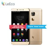 "D'origine Letv LeEco S3 X626 4 4GLTE Mobile Téléphone 21.0MP 4 GB RAM 32 GB ROM Deca Core MTK6797 Android 6.0 5.5 ""FHD 3000 mAh d'empreintes digitales"