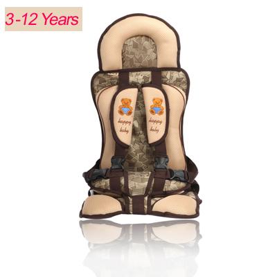 WENDYWU 3-12 Anos de Idade Do Bebê Do Assento de Carro, Proteção Do Carro Crianças, Portátil e Confortável Infantil da Segurança Do Bebê assento, Almofada Bebê Prático