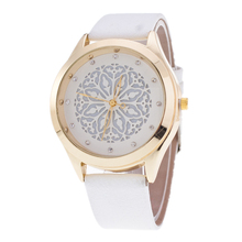 BGG hollow out flower ladies Watch