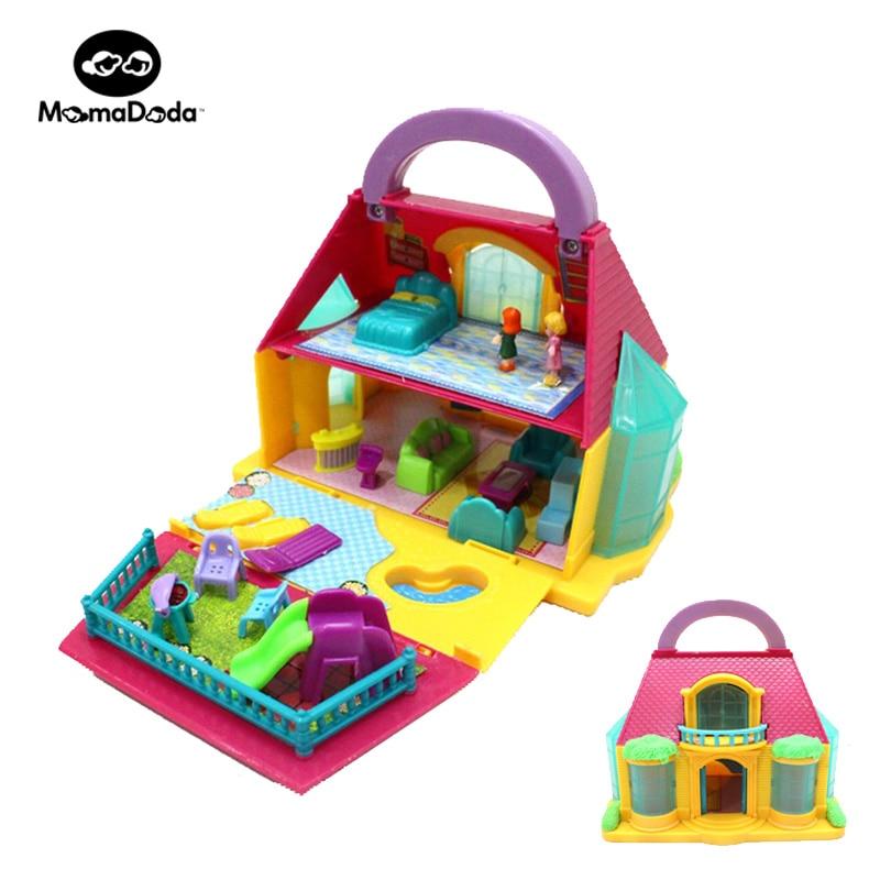 cheap dolls house furniture sets. kids mini dollhouse furniture doll house sets pretend play miniaturas room toys for girl children cheap dolls