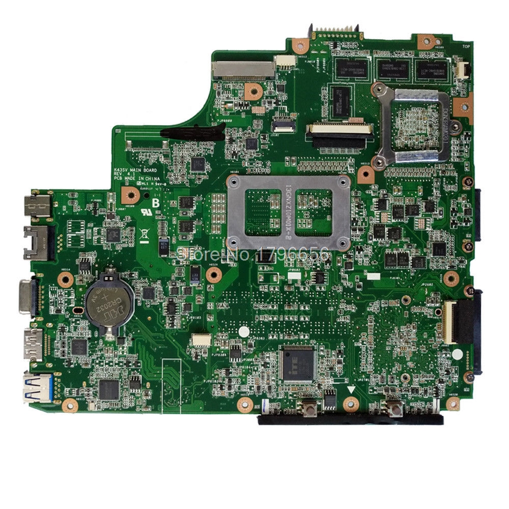 K43SV moederbord GT540M 1 GB REV: 3.0 voor ASUS A43S X43S K43SV K43SJ - Computer componenten - Foto 2