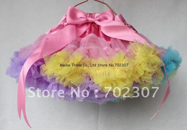 free shipping 5pcs wholesales new arrival pettiskirt tutu skirt girl dancing skirt v-179 pink