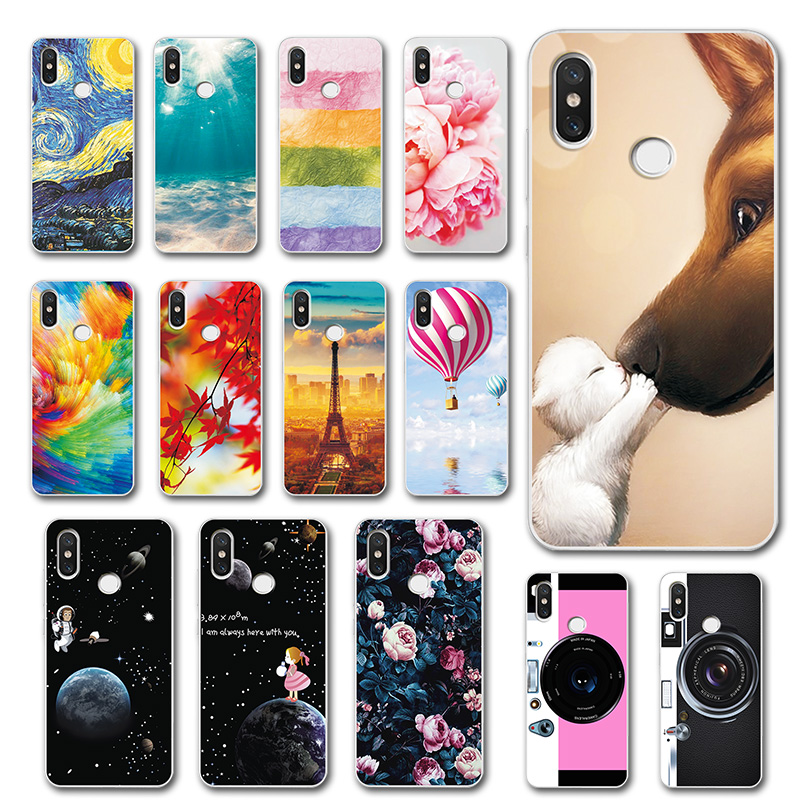 Cute Cases Coque For Xiaomi Redmi Note 5 Global Version Silicone Novelty Phone Shell For Xiaomi Redmi Note 5 Pro Cover Fundas