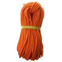 Climbing Safety Sling Rappelling Rope Auxiliary Cord 40m 1200 KG Orange Mountaineering Equipment