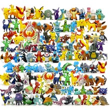 SUN & CLOUD 144 pçs/set Estilo Novo Monstro Bonito Figuras Brinquedos Aleatório 24 Pçs/set 72 Pçs/set
