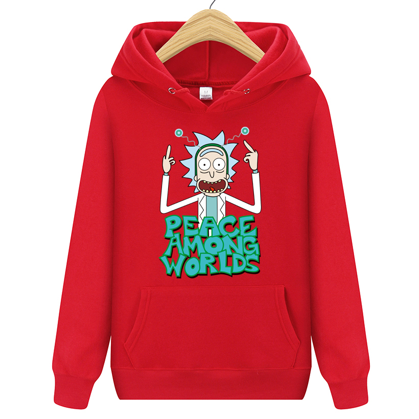 New Peace Among Worlds Rick And Morty Hoodies