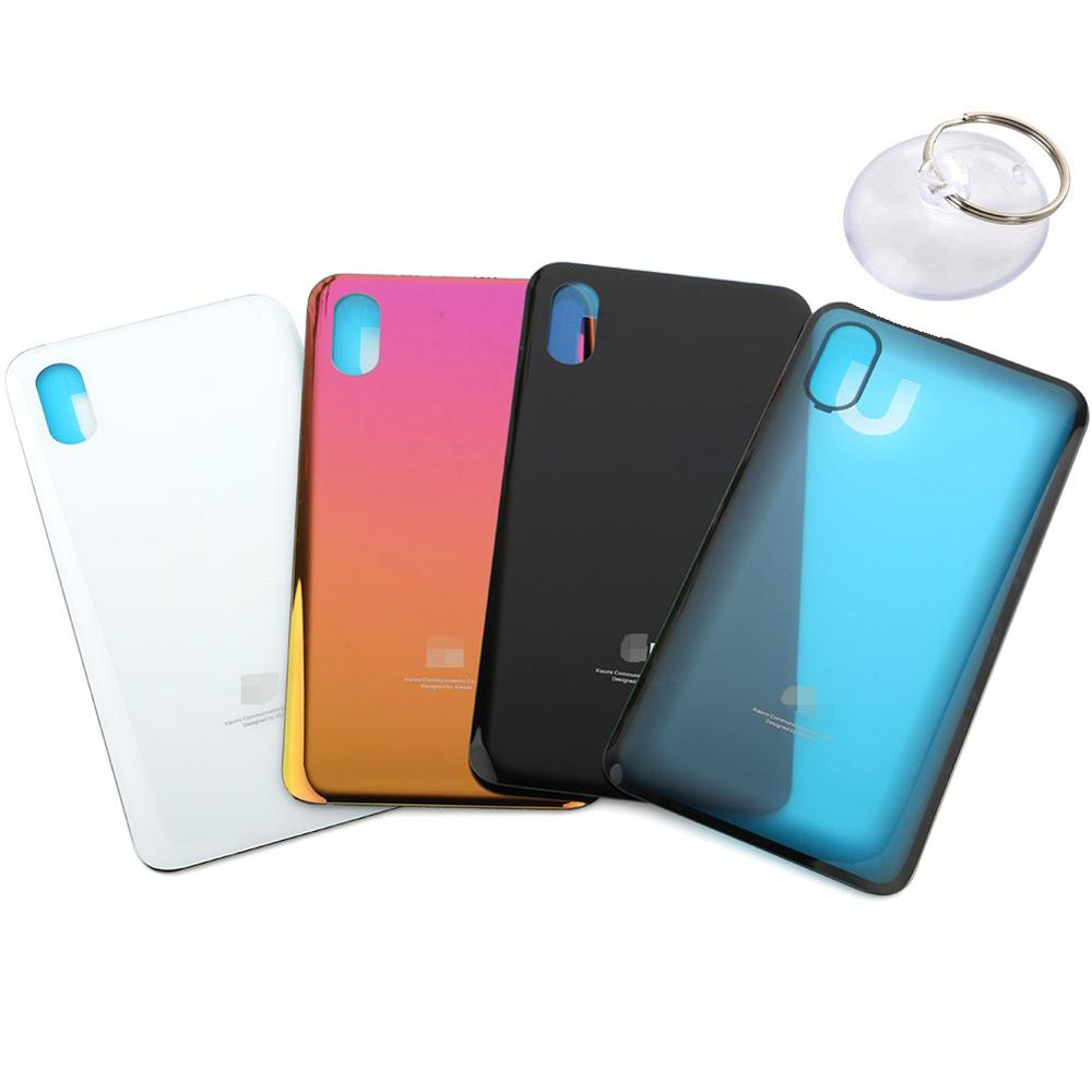 for xiaomi Mi 8 Pro Mi8 SE Back Housing Cover Case Battery Rear Door Replacement Battery Cover with Suction Cup Open Tool