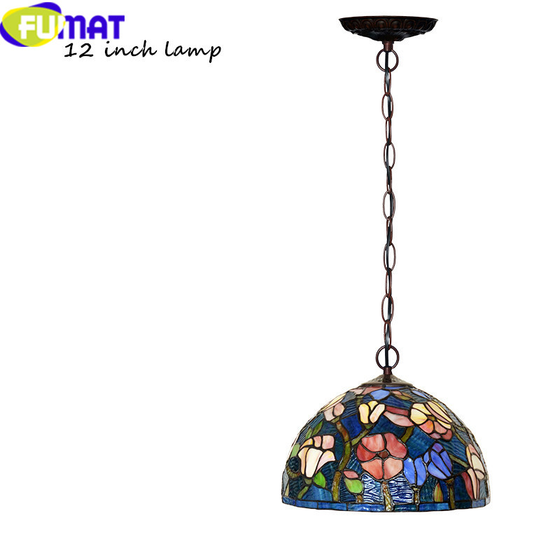 10 12INCH Tiffany bombax Stained Glass Pendant Lamps