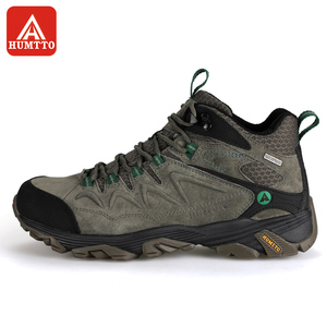 Image 2 - HUMTTO Hiking Shoes Men Winter Outdoor Sports Climbing Shoes Non   slip Warm Lace up Trekking high top Sneakers Big Size