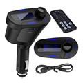 Kit Car LCD MP3 Player Transmissor FM Sem Fio Modulador sem fio com USB SD MMC LCD Com Controle Remoto Auto Car Music Player