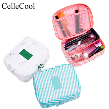 Women Makeup bag nylon Cosmetic bag beauty Case Make Up Organizer Toiletry bag kits Storage Travel Wash pouch  Zipper 3pcs set women transparent cosmetic bag clear zipper travel make up case makeup beauty organizer storage pouch toiletry wash bag