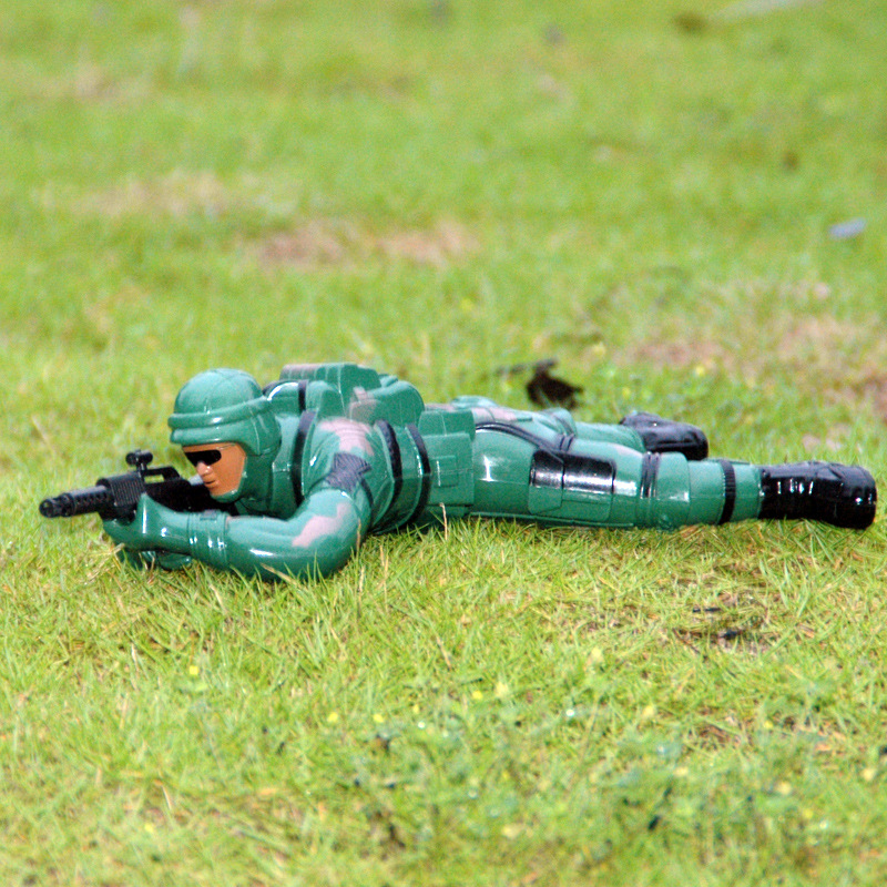Electric Crawling Special Forces Anti Terrorist Guerrilla Fighters Vocal Cords Lighting Electric Toys