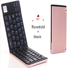 KuWFi Portable Bluetooth Folding Keyboard Mobile Phone Computer Universal Creative Pocket Double