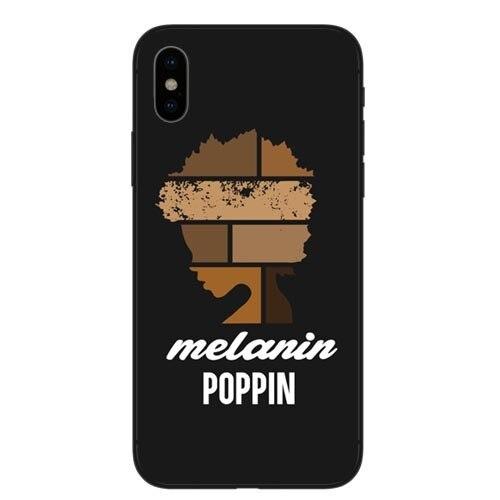 Coque de téléphone Mélanine Poppin Pour iPhone X 8 8 Plus 7 7 Plus 6 6 s Plus 5 5S SE 2 5