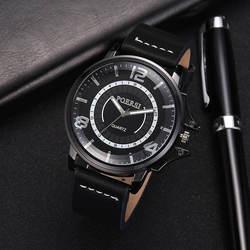 Бизнес для женщин часы леди наручные кварцевые часы из искусственной кожи круглый мода подарок TT @ 88