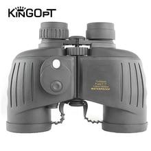 Military Binoculars 7X50 HD Waterproof Lll Night Vision Binocular with Digital Compass Marine Professional Rangefinder Telescope все цены