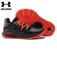 Under Armour Men Basketball Shoes Curry 4 Training Boots zapatillas hombre deportiva low top Fitness Athletic Cushion Sneakers