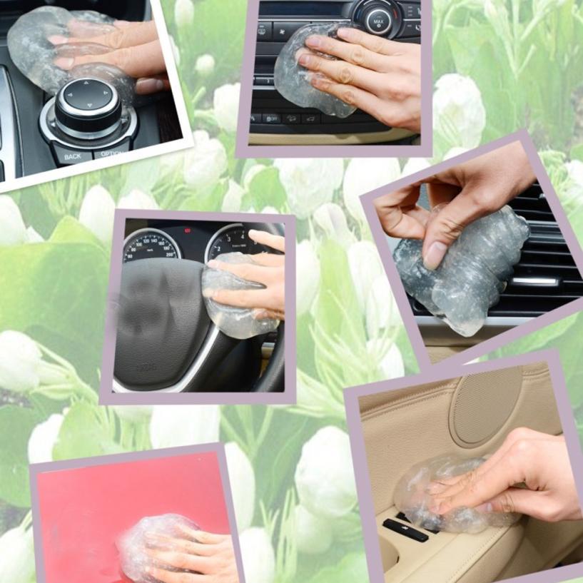 Новое поступление Car Clean Клей резинки гелевые Тематические товары про рептилий и земноводных воздуха на выходе Vent Dashboard подкладке Cleaner Инстр...