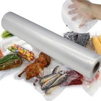 28*500CM Vacuum Heat Sealer Fresh Food Shield Bag Rollers Food Storage Bags Flim Wrap Kitchen Packaging Tool Dropshipping Oct27