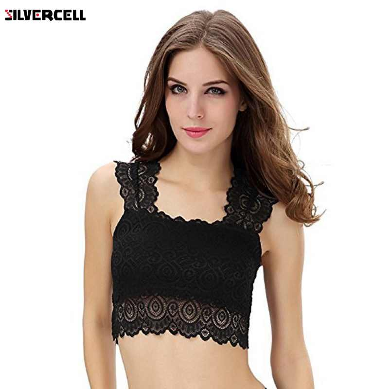 70023e4586 High Quality Brassiere Bra for Females Bandeau Tube Tops Women Sexy  Underwear Prevent Exposed Lace Wrapped